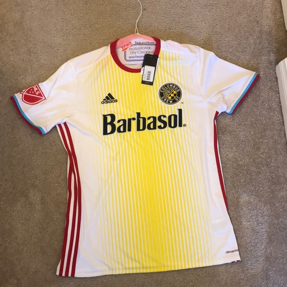 NWT Columbus Crew Adidas Soccer Jersey Size Large 584197993